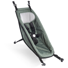 Croozer Babysæde til Kid fra 2014, jungle green/black